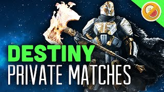 PRIVATE MATCHES!! - Destiny Rise of Iron Supremacy Gameplay (Almost Custom Matches)
