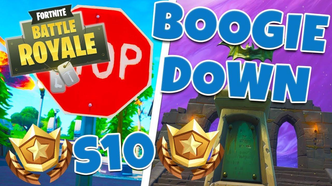 Fortnite Boogie Down Challenge Song Boogie Down Challenge Guide Week 6 Season X Fortnite Battle Royale By Dan Toppy