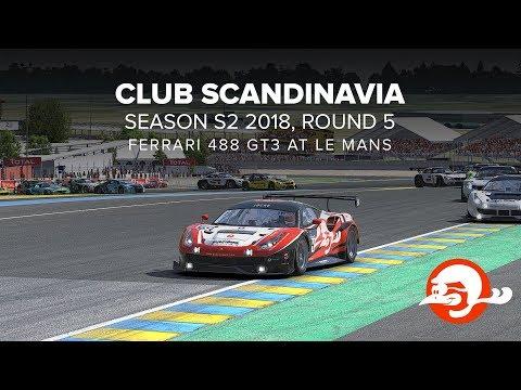 CLUB SCANDINAVIA SEASON S2 2018 , round 5 WIN!