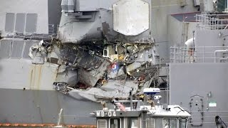 Bodies of USS Fitzgerald crewmembers found