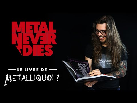 FAQ Live pour mon livre Metal Never Dies