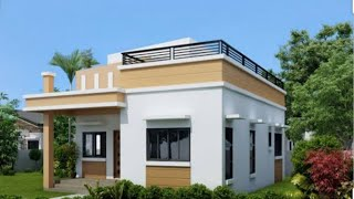 Single Story Small House 🏡 with 1 Bedroom, kitchen, living and Drawing