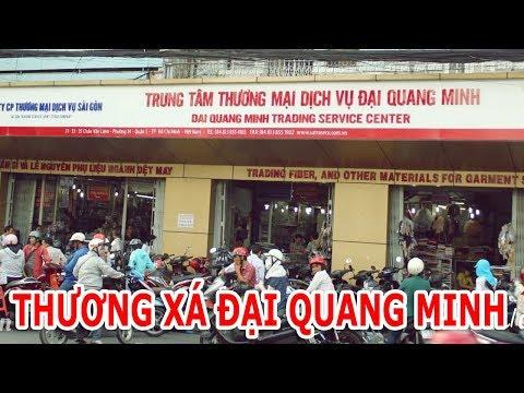 Thương xá Đại Quang Minh - chợ phụ kiện lớn nhất Sài Gòn