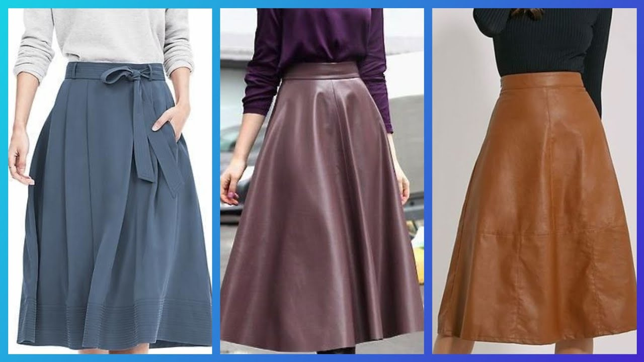 Beautiful winter wear Skirts and blouse designs ideas for women ...