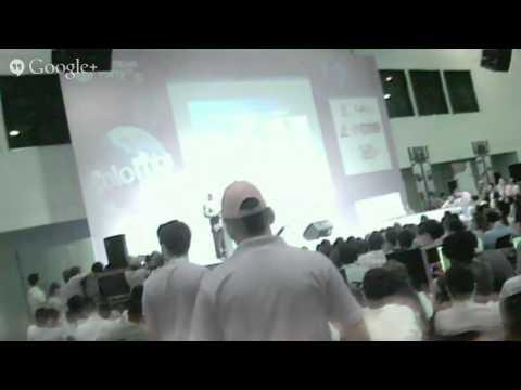 CPCO7 Michio Kaku en Campus Party Colombia