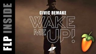 Avicii - Wake Me Up - FL Studio Remake [FLP]