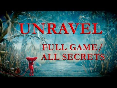 UNRAVEL полное прохождение + все секреты (FULL GAME/ALL SECRETS)