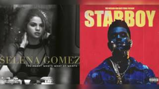 Selena Gomez x The Weeknd  - The Heart Wants A Starboy (Mashup) (Feat Daft Punk)