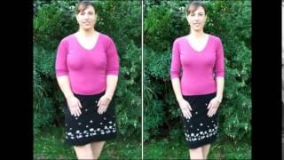 похудение за месяц фото до и после