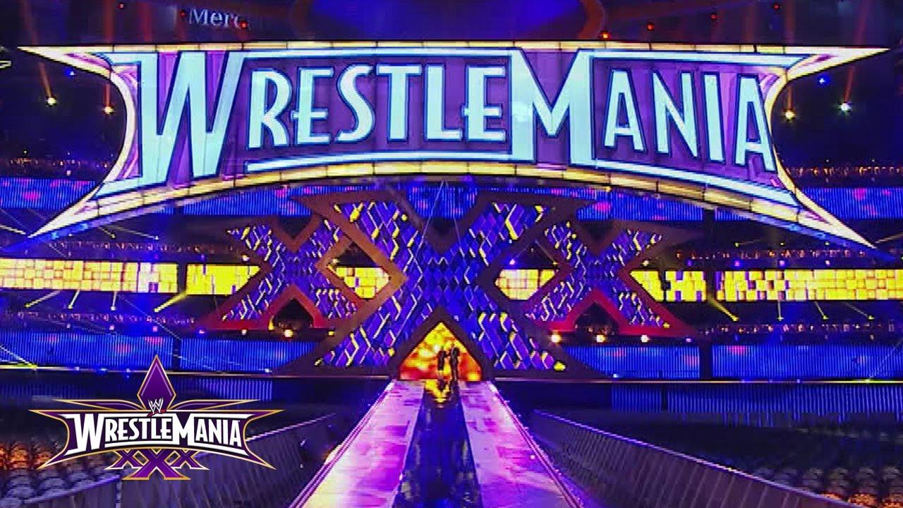 Sneak Peek Wrestlemania 30 Set Reveal Youtube