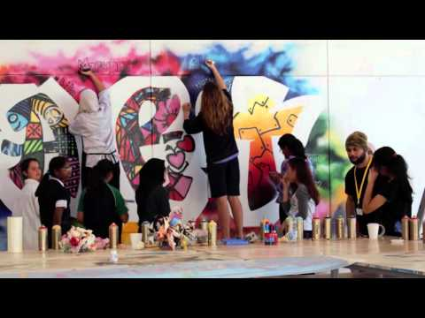 Graffiti Video Wellington International School, Dubai. Art Department