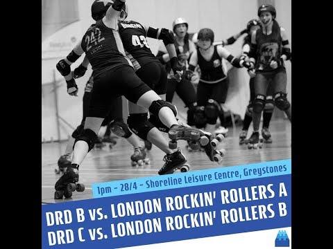 Dublin Roller Derby vs London Rockin' Rollers Double Header