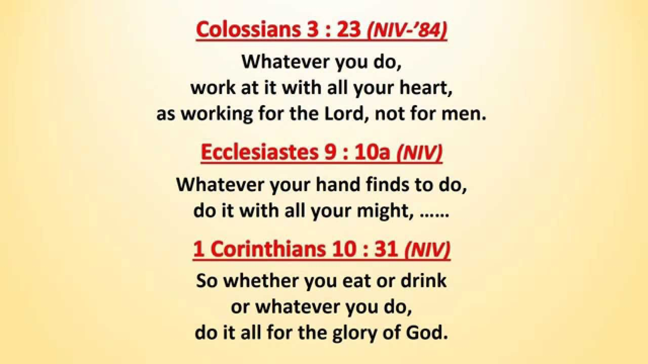 Image result for 1 cor 10 31