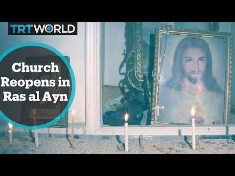 The War in Syria: Ras al Ayn church prepares for Christmas