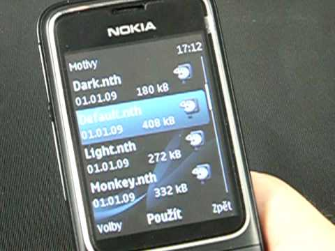Nokia 2710 Navigation - prostředí Series 40