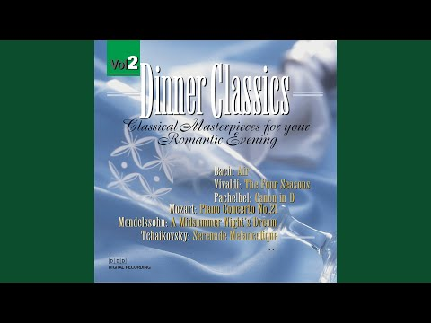 Main Course - Mozart Dinner Classics: Clarinet Concerto In A Major, II. Adagio