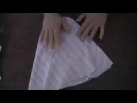 Patron y Armado de falda plato para niña