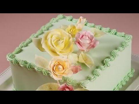 Como decorar pasteles de cumplea os youtube - Fotos para decorar ...