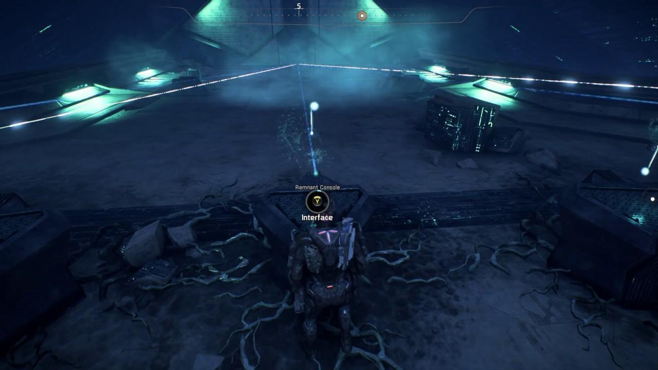 Mass Effect Andromeda Elaaden Vault Activate Consoles Open Door