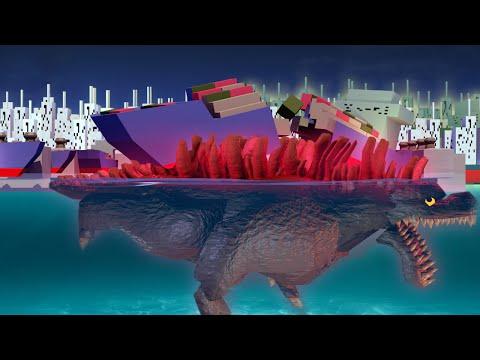 "Minecraft | Godzilla Modded Survival - ""GODZILLA SPAWNS IN OCEAN"" #3 (MORPHING MINECRAFTERS)"