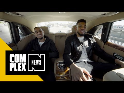 We Rode Around L.A. In A Rolls Royce with Karl-Anthony Towns