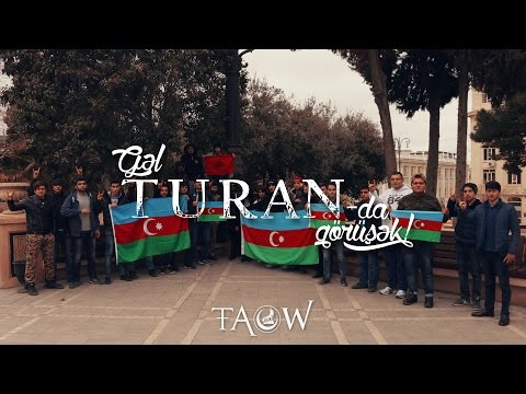 Gəl TURAN-da görüşək ! (Okaber - Taboo) #flashmob