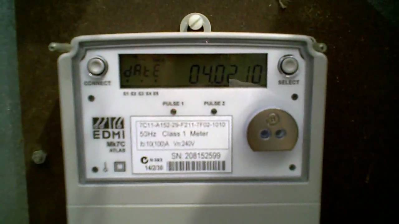 Nz Single Phase Smart Meter : Origin energy smart meter replacing my old electric