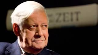 """Helmut Schmidt zur Weltlage - """"Wir Schlafwandler"""""""