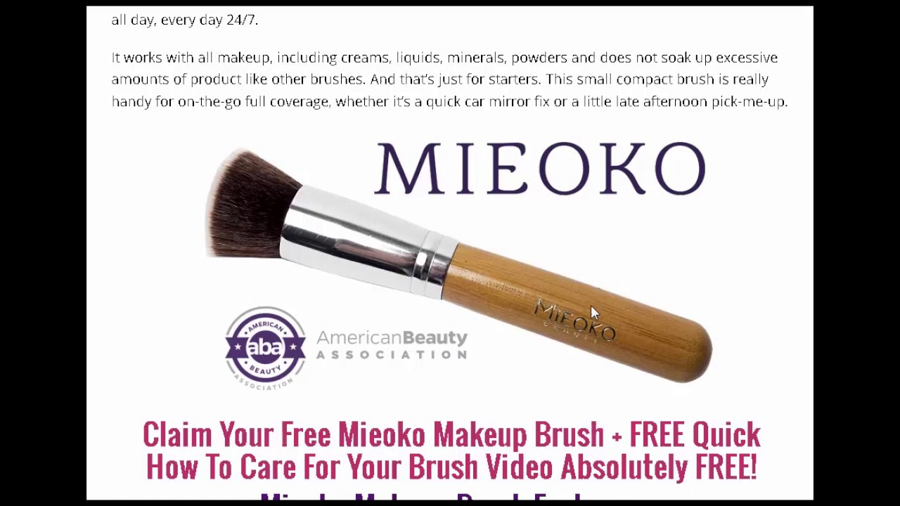 Make money giving away free makeup brushes makeup tutorials make money giving away free makeup brushes makeup tutorials view mobile baditri Image collections