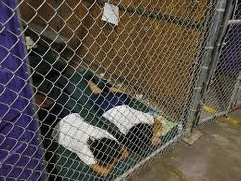 Illegal Children Held in Detention Centers in the USA!