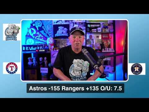 Houston Astros vs Texas Rangers Free Pick 9/3/20 MLB Pick and Prediction MLB Tips
