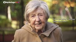 World's Oldest Blogger, Dagny Carlsson, Tests with MyHeritage DNA
