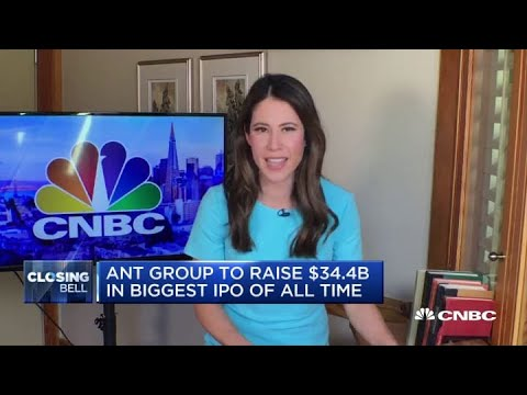 Ant Group raises $34.4 billion in the biggest IPO of all time