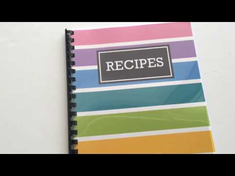 Recipe Book Word Template Free