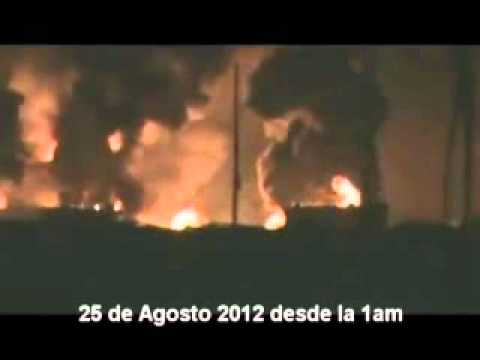 Videoaficionado registra momento de la explosión en la refinería de Amuay