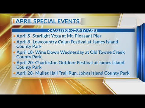 Charleston County Parks April happenings