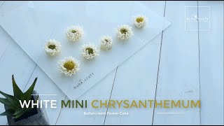 Buttercream Mini Chrysanthemum Tutorial - Cách bắt hoa cúc mini từ kem bơ