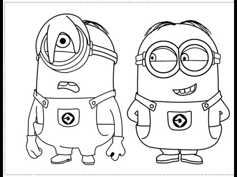 Funny minions Minions in different colors - YouTube