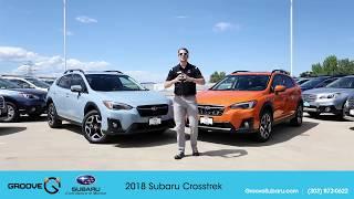 The 2018 Subaru Crosstrek is here