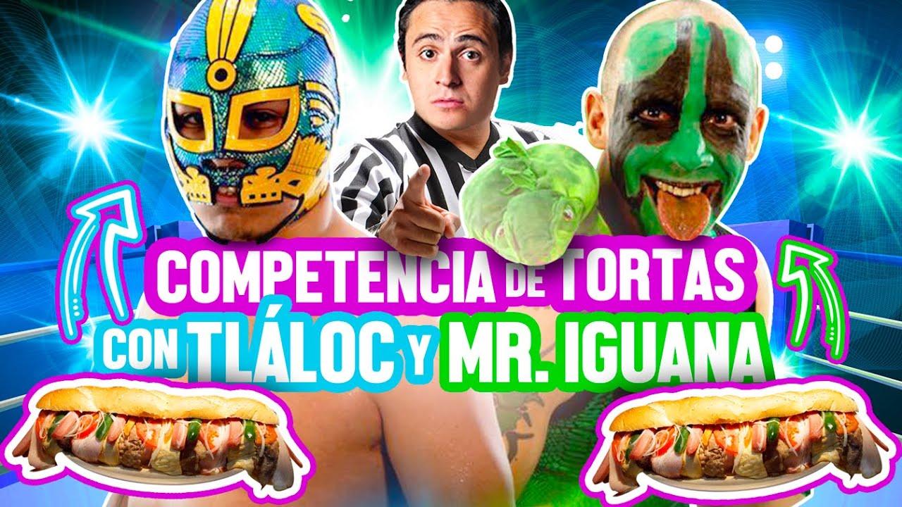RETO DE TORTAS GLADIADOR /  TLÁLOC VS MR. IGUANA -  Ñam Ñam (Episodio 136)