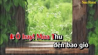 Karaoke Lk Tuổi Xa Người & Bài Cho Em (Khánh Ly- Từ Công Phụng beat song ca)