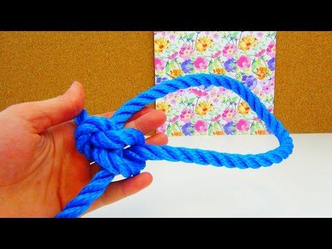 Palstek Knoten Tutorial / Palstek Seemannsknoten ganz einfach lernen / Knoten Anleitung