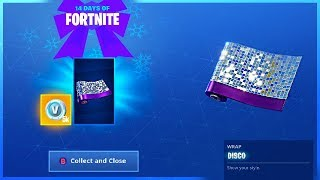 How To Get DISCO WRAP and Place Devices On A Creative Island in 14 Days Of Fortnite!