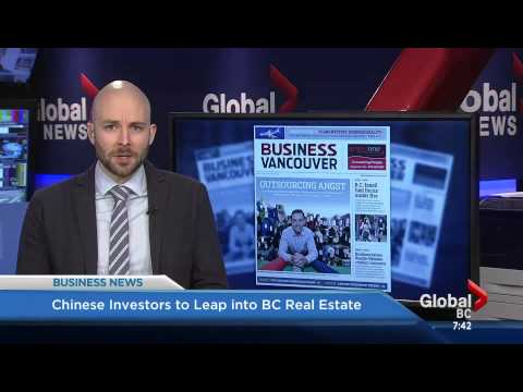 Chinese Investors to Leap into BC Real Estate