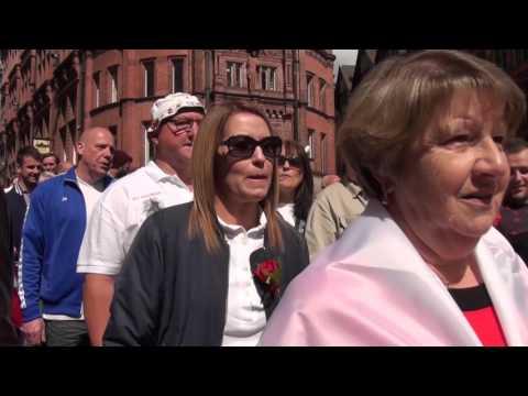 St George's Day 2016 Nottingham