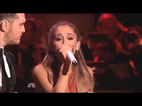Michael Bublé & Ariana Grande - Santa Claus is coming to town