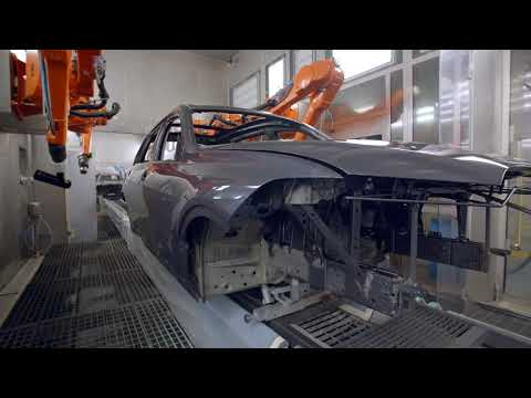Production of the BMW X7 Paint Shop