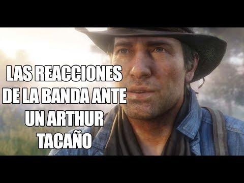 Red Dead Redemption 2 – Así reaccionan los miembros del campamento si Arthur no trae comida y dinero
