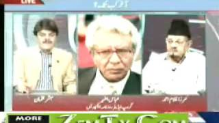 "Ahmadiyya Sahibzada Mirza Ghulam Ahmad Sahib in Express News ""Point Blank"" 2 June 2010 part-4"