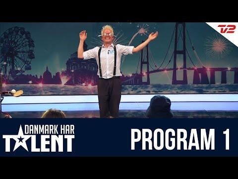 Multigøgleren Kasper Jensen - Danmark Har Talent - Program 1